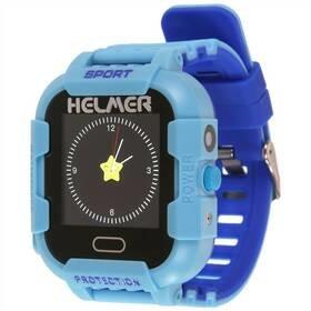 Modré dětské chytré hodinky LK 708, Helmer