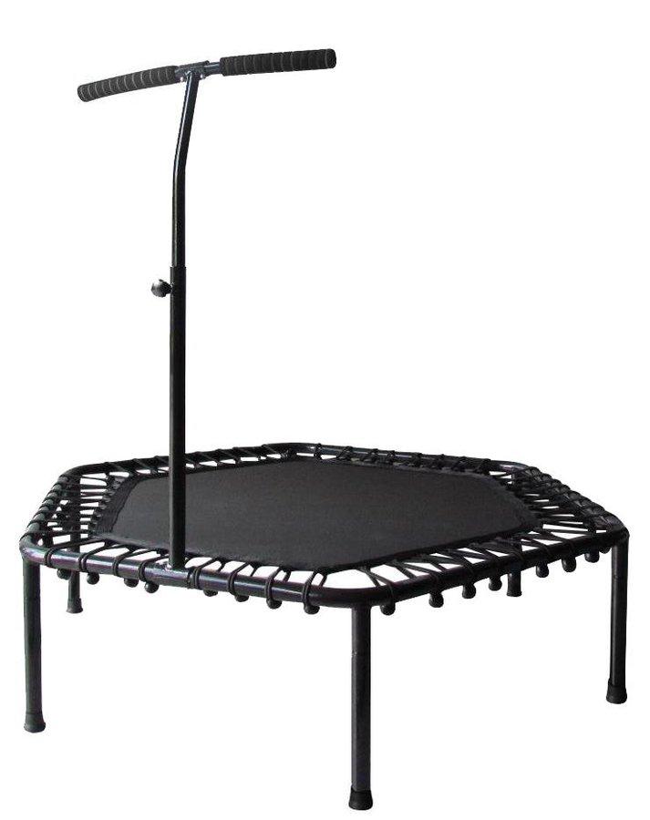 Šestiúhelníkový fitness trampolína s madlem Sedco