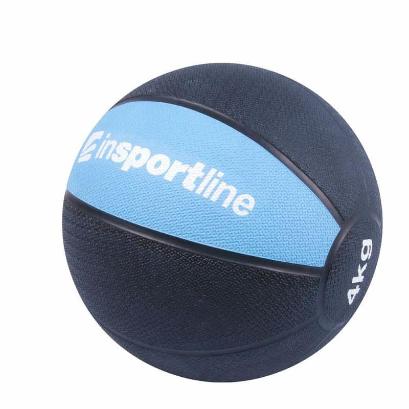 Medicinbal bez úchopů inSPORTline - 4 kg