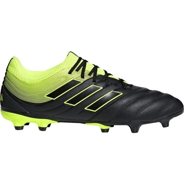 Černo-žluté pánské kopačky Adidas