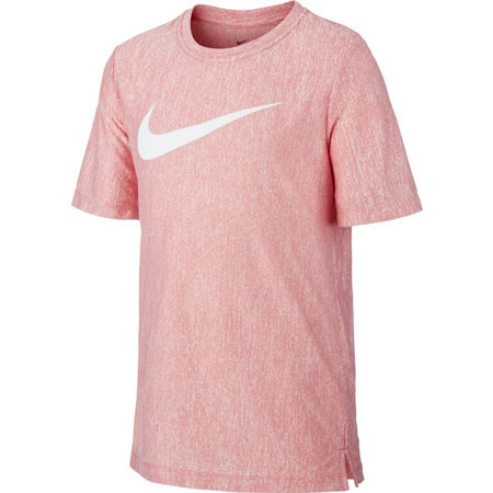 Růžové chlapecké tričko s krátkým rukávem Nike