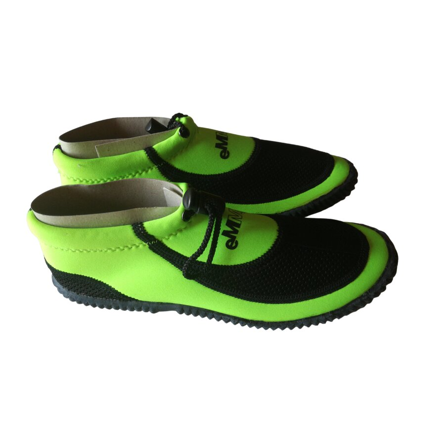 Černo-zelené boty do vody Beta, Emme