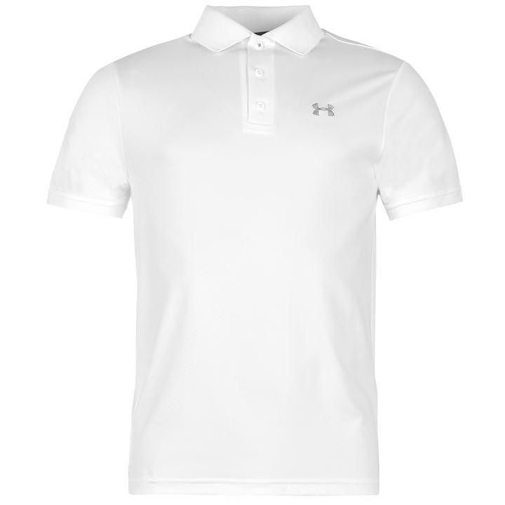 Bílé pánské golfové tričko Under Armour
