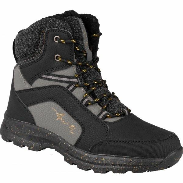 Černé dámské zimní boty Alpine Pro - velikost 37 EU