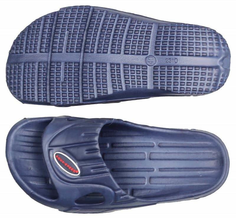 Černé pánské pantofle Aqua-Speed - velikost 40 EU