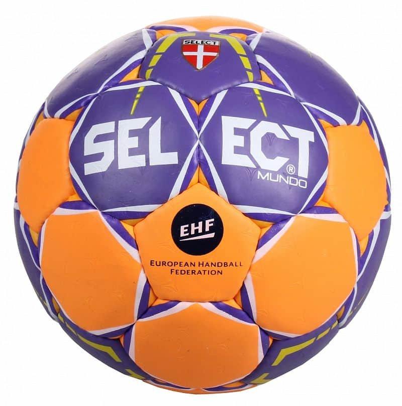 Míč na házenou - HB Mundo 2017 míč na házenou barva: fialová-oranžová;velikost míče: č. 0