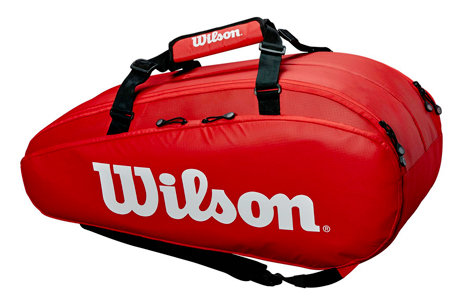 Tenisová taška - Wilson TOUR 2 COMP Large 2019 Red