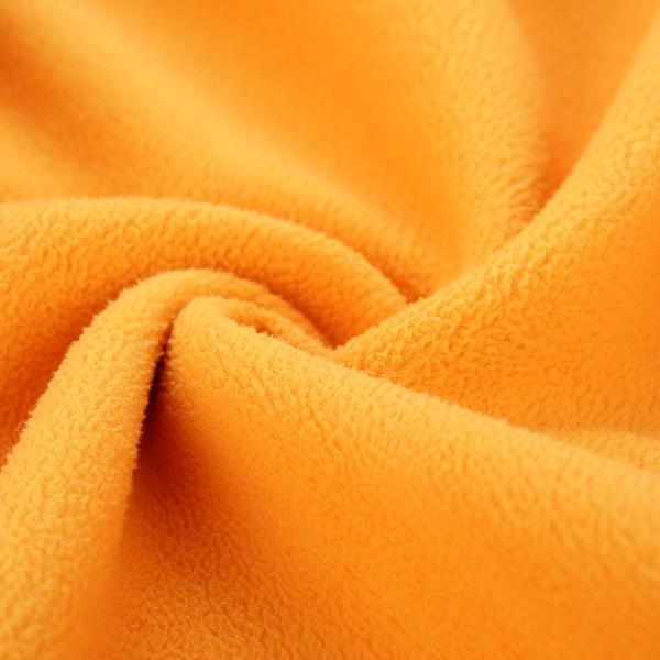 Oranžový dětský turistický svetr Alpine Pro - velikost 140-146
