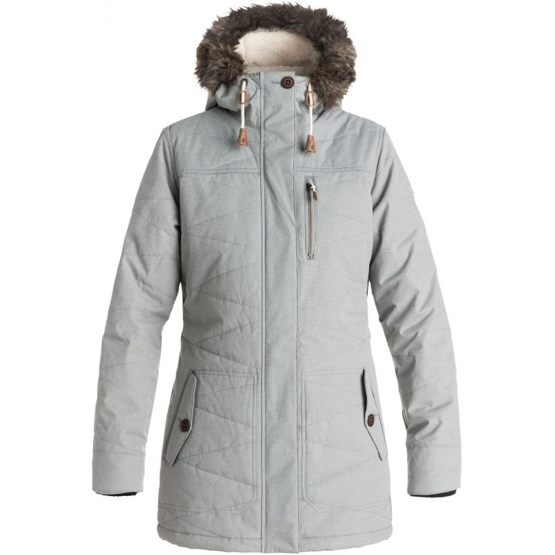 Šedá dámská snowboardová bunda Roxy