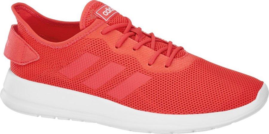 Červené dámské tenisky Adidas - velikost 38 EU