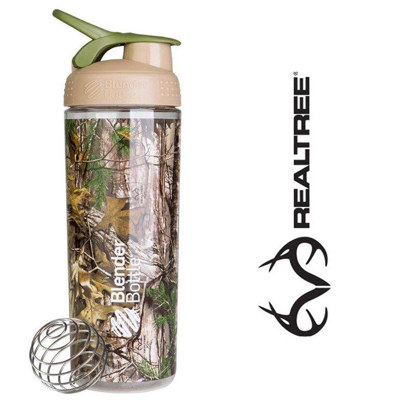Hnědý shaker Realtree - objem 820 ml