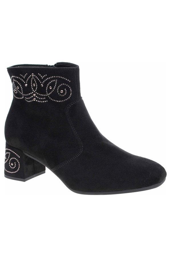 Černé dámské zimní boty Gabor - velikost 37,5 EU