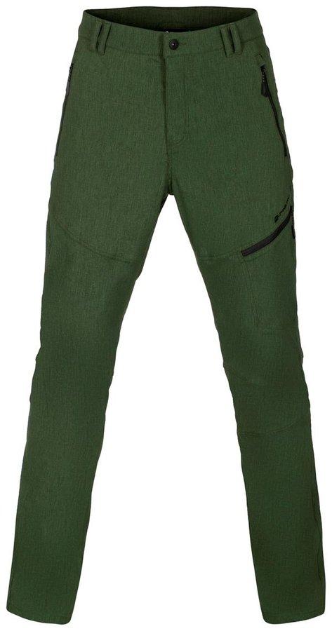 Zelené softshellové pánské kalhoty Alpine Pro - velikost 56