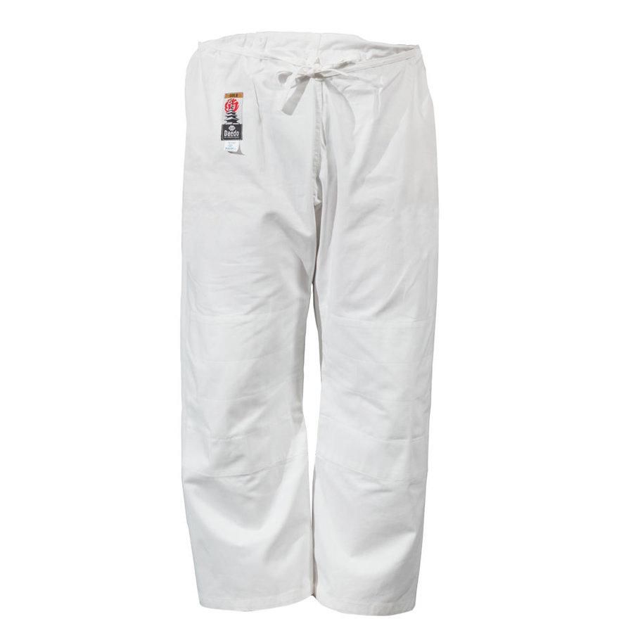 Bílé kalhoty na judo Dae do