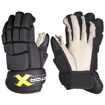 """Hokejové rukavice - Hokejové rukavice JR barva: černá;délka: 12"""""""