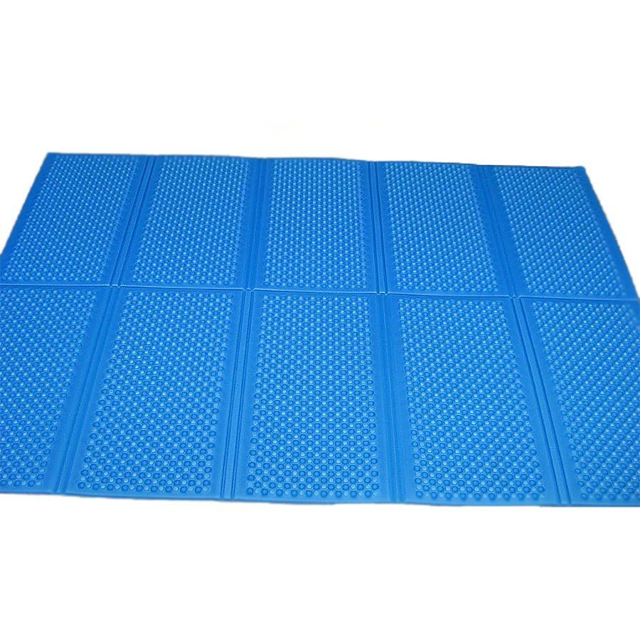 Modrá skládací karimatka Casmatino - tloušťka 1 cm