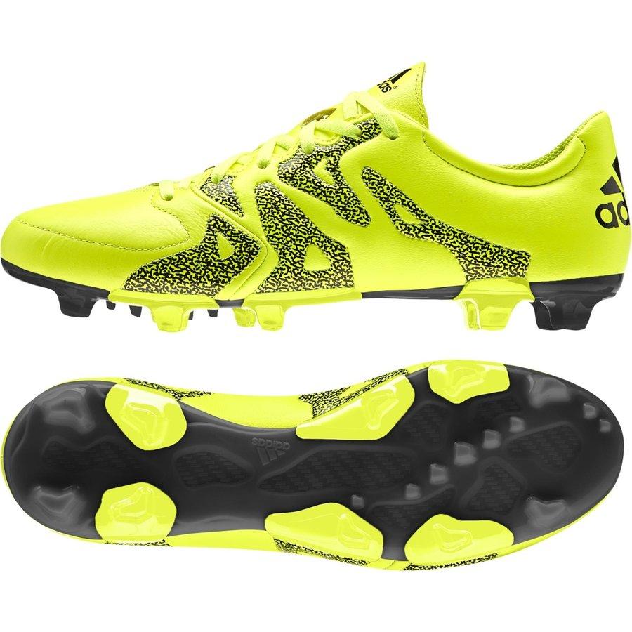 Žluté kopačky lisovky X 15.3 FG/AG, Adidas - velikost 45 EU
