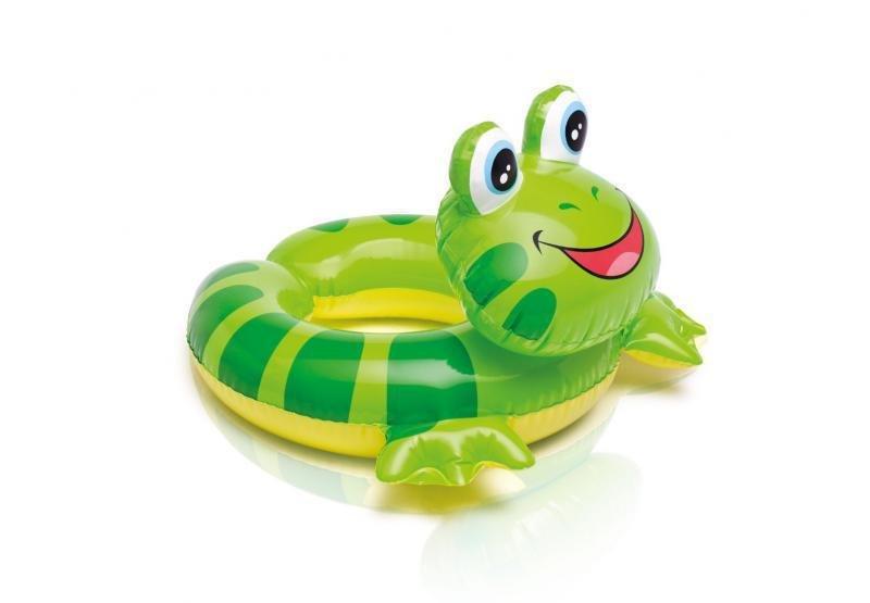 Zelený nafukovací kruh Žába INTEX