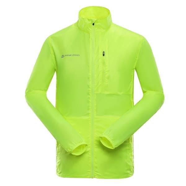 Žlutá pánská bunda Alpine Pro - velikost S