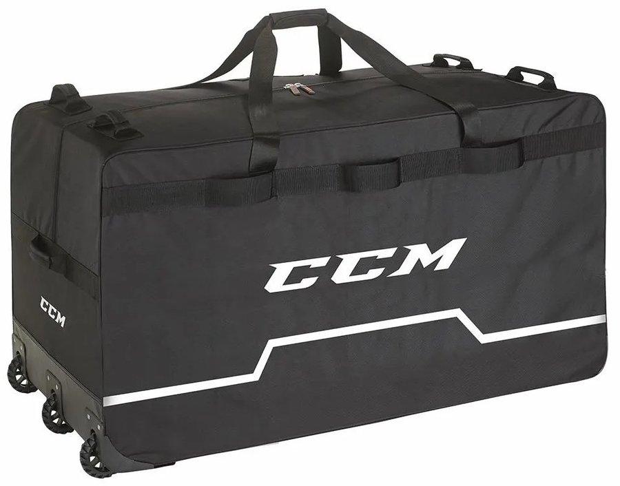 Brankářská taška - Brankářská taška CCM PRO Wheeled Goalie Bag Senior Barva: černá