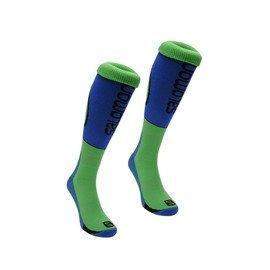 Modro-zelené pánské ponožky Salomon