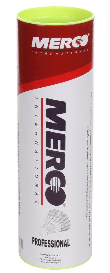 Plastový badmintonový míček Merco - 6 ks