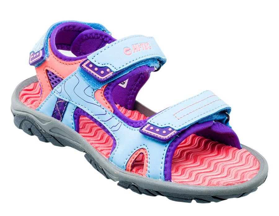 Modro-růžové dívčí sandály Hi-Tec