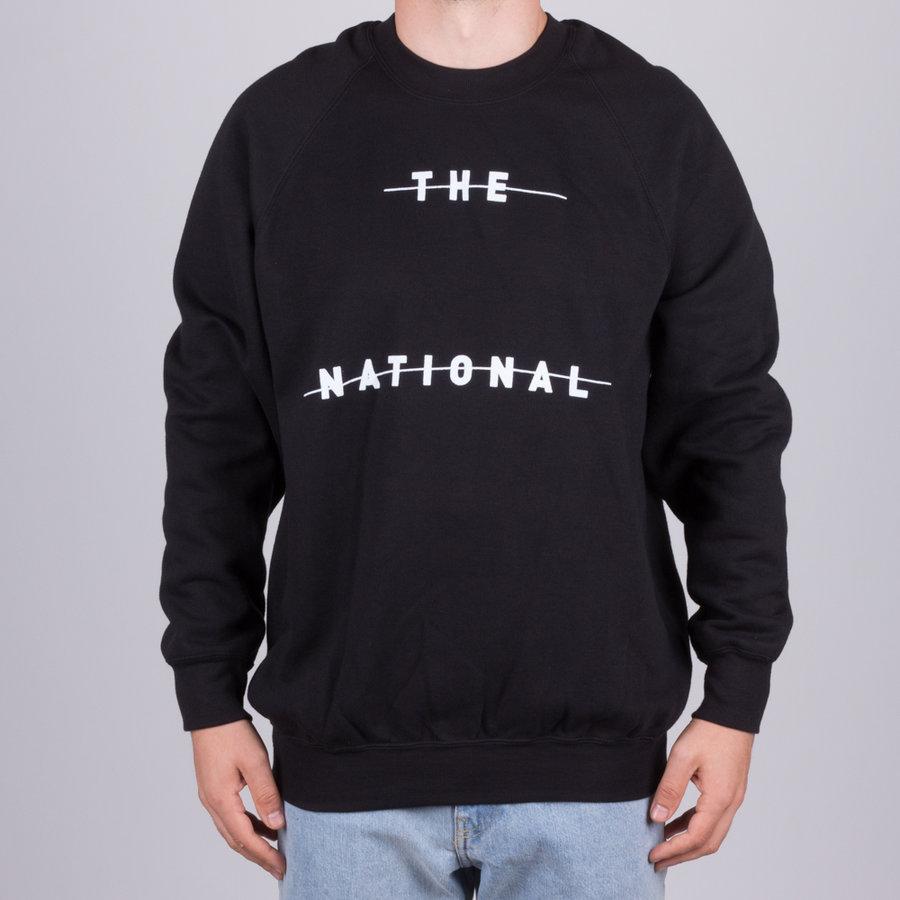 Černá pánská mikina bez kapuce National Skateboard Co. The