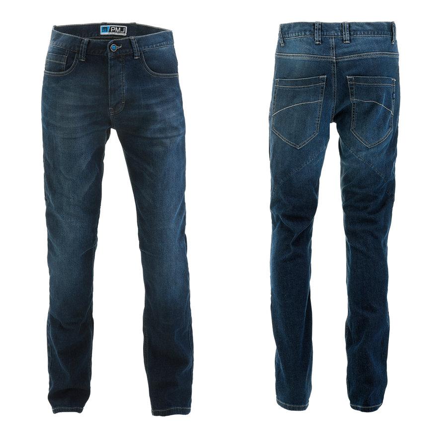 Modré pánské motorkářské kalhoty Rider, PMJ Promo Jeans
