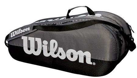 Tenisová taška - Wilson Team 2 Comp 2019 šedá