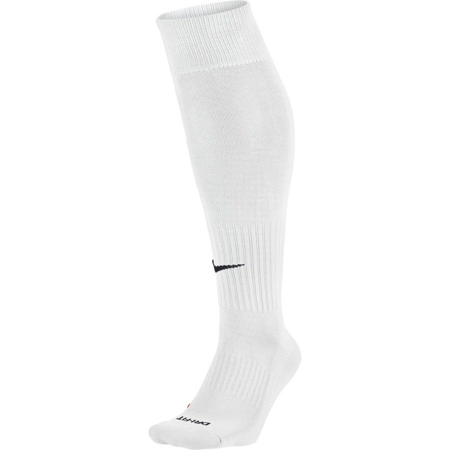 Bílé fotbalové štulpny Classic Football Dri-Fit, Nike - velikost S