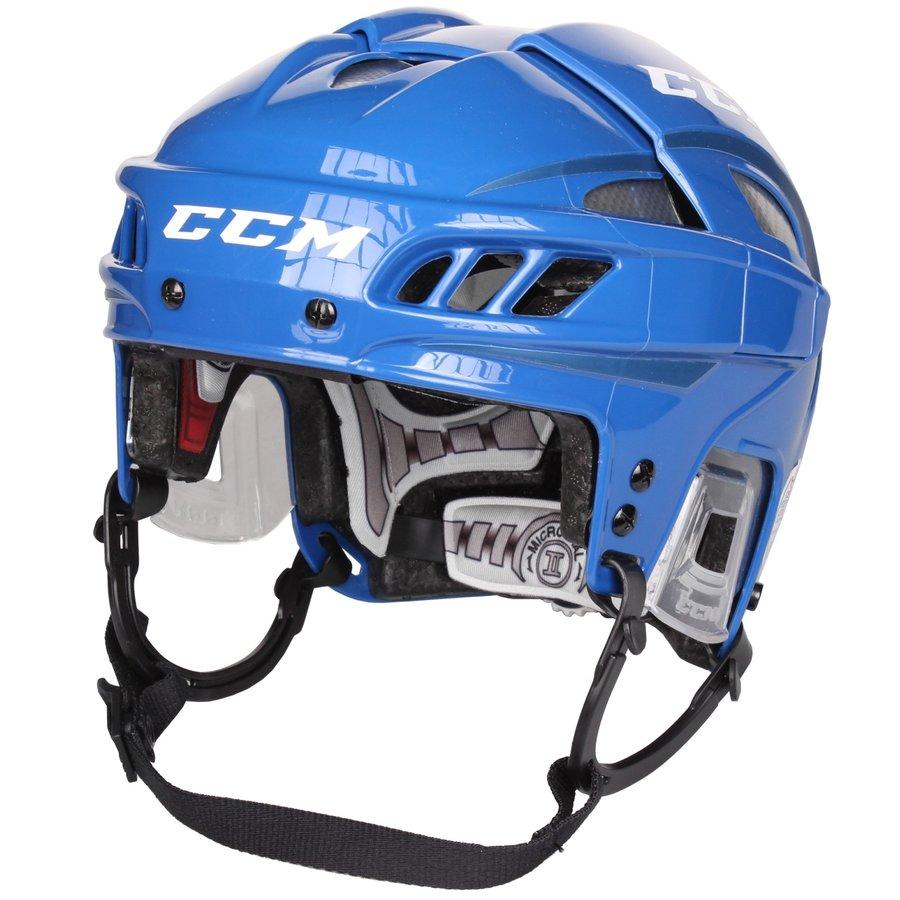 Hokejová helma - Hokejová helma CCM FitLite modrá - vel. L