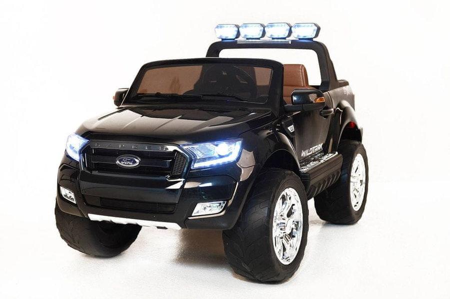 Černé dětské elektrické autíčko Ford Ranger Wildtrak, Beneo