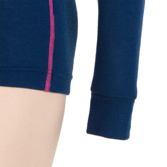 Růžové pánské funkční tričko s dlouhým rukávem Sensor - velikost M
