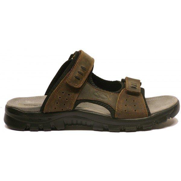 Khaki pánské pantofle Numero Uno