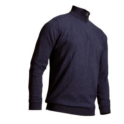 Modrý pánský golfový svetr Inesis