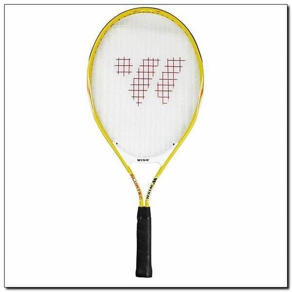 Žlutá tenisová raketa Wish