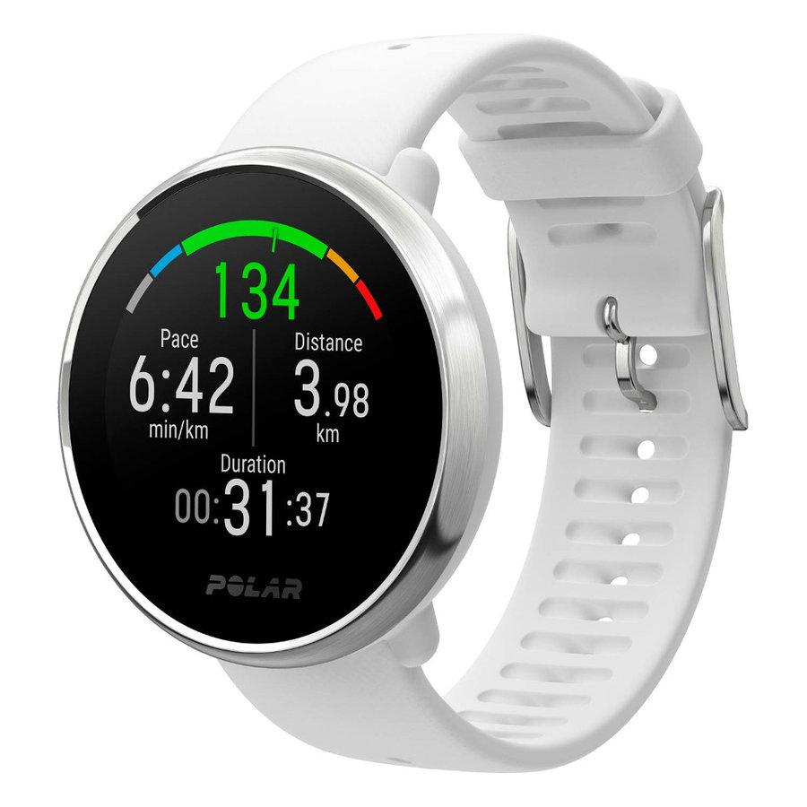 Bílé sportovní chytré hodinky Ignite, Polar
