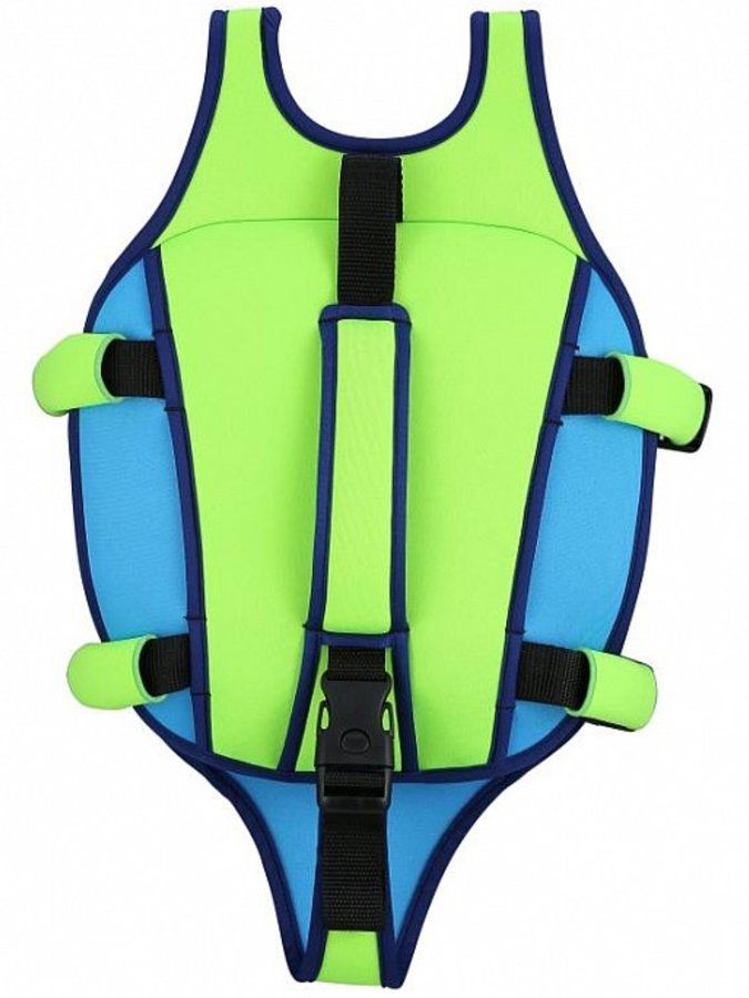 Zelená dětská chlapecká nebo dívčí plovací vesta Aqua Sphere - velikost 3-6 let