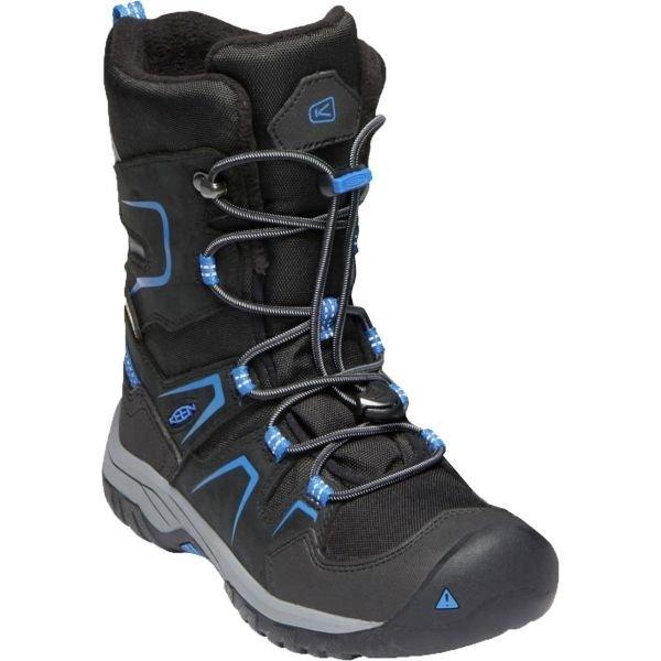 Černé chlapecké zimní boty Keen