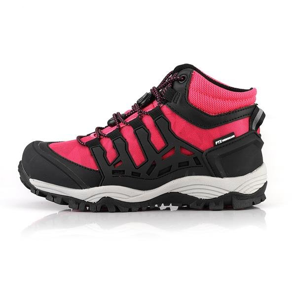 Růžové dívčí trekové boty Alpine Pro - velikost 33 EU