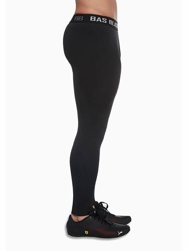 Černé pánské legíny Bas Black - velikost XL