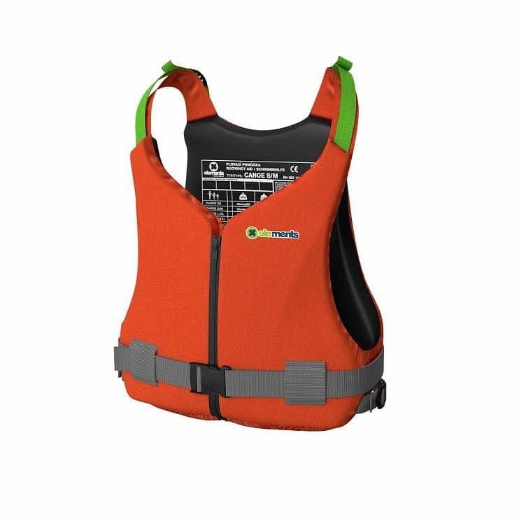 Oranžová plovací vesta - velikost L-XL