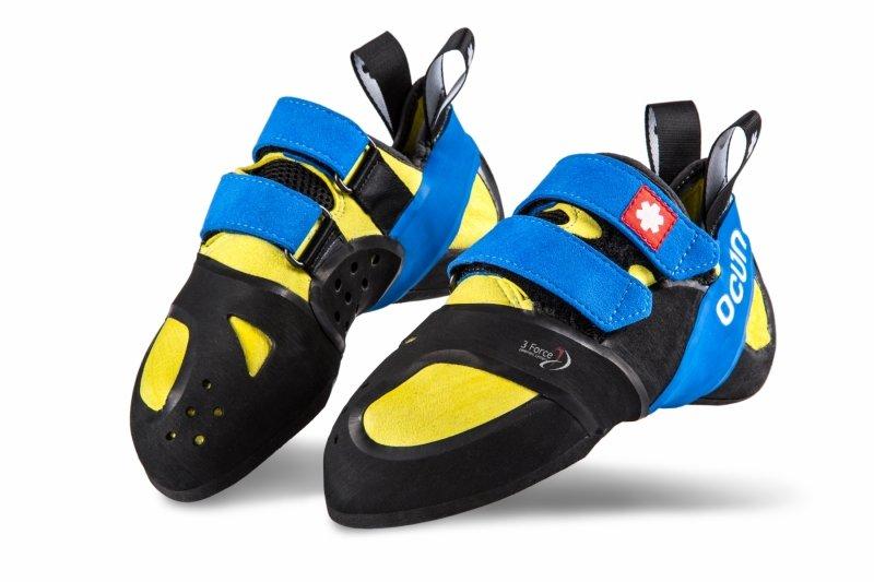 Černo-žluté dámské nebo pánské lezečky Ocún - velikost 37 EU ... 9f7a4537ae