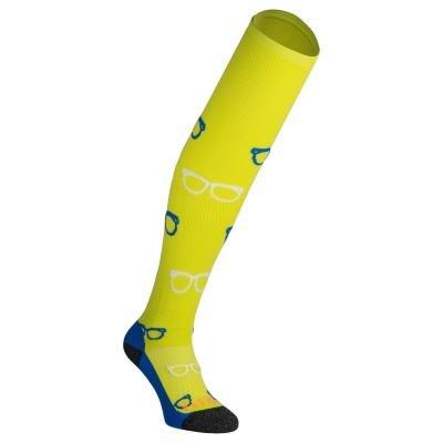 Žluté hokejové ponožky Kipsta - velikost 39-42 EU