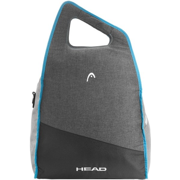 Černo-šedá taška na lyžařské boty pro 1 pár Head