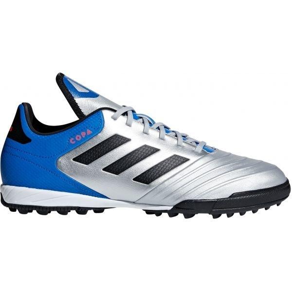 Modro-stříbrné pánské kopačky turfy Adidas