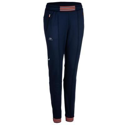 Modré dámské kalhoty na atletiku Kalenji