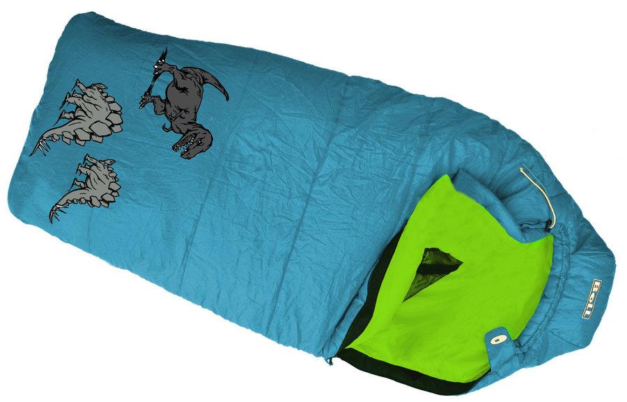 Modrý dětský spací pytel Boll - délka 180 cm