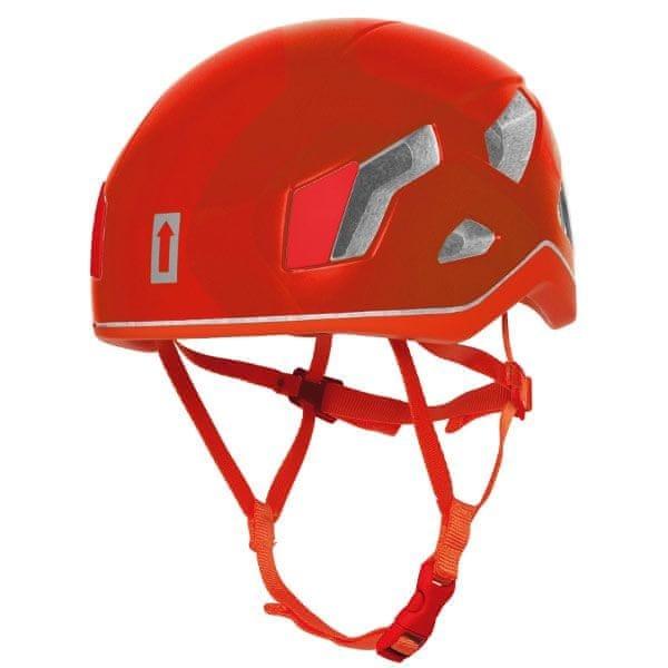 Červená horolezecká helma Singing Rock - velikost 51-60 cm